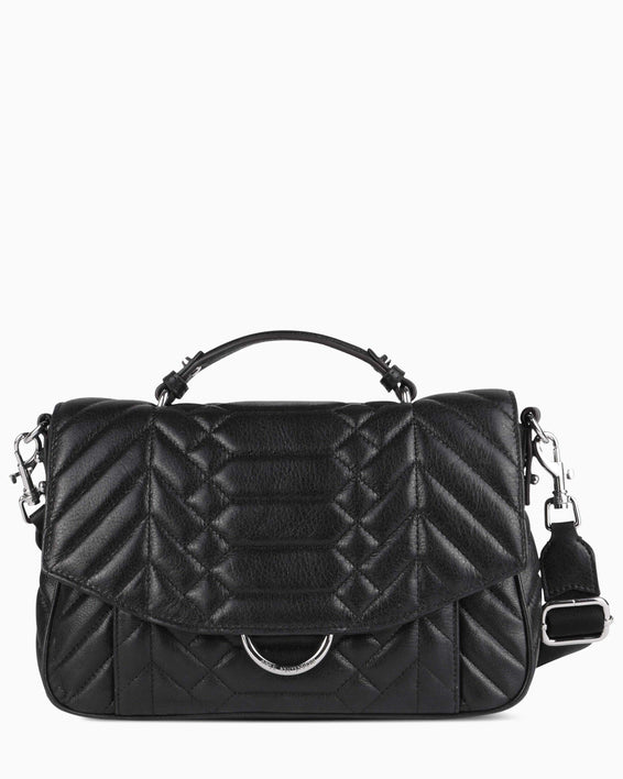 Scene Stealer top handle Crossbody - Black front