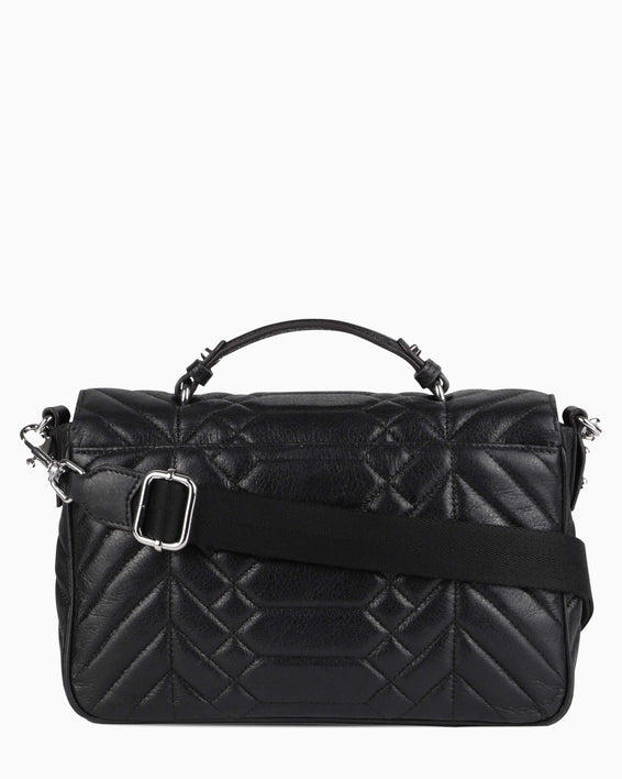 Scene Stealer top handle Crossbody - Black back