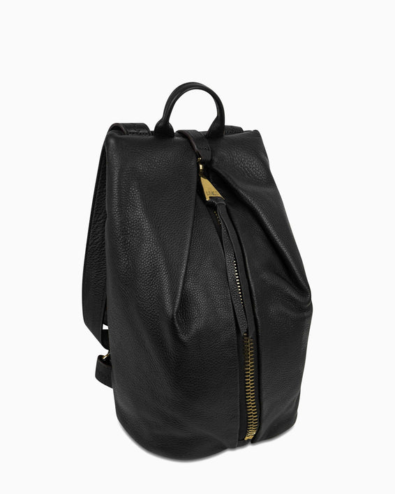 Tamitha Backpack - Black Gold side angle