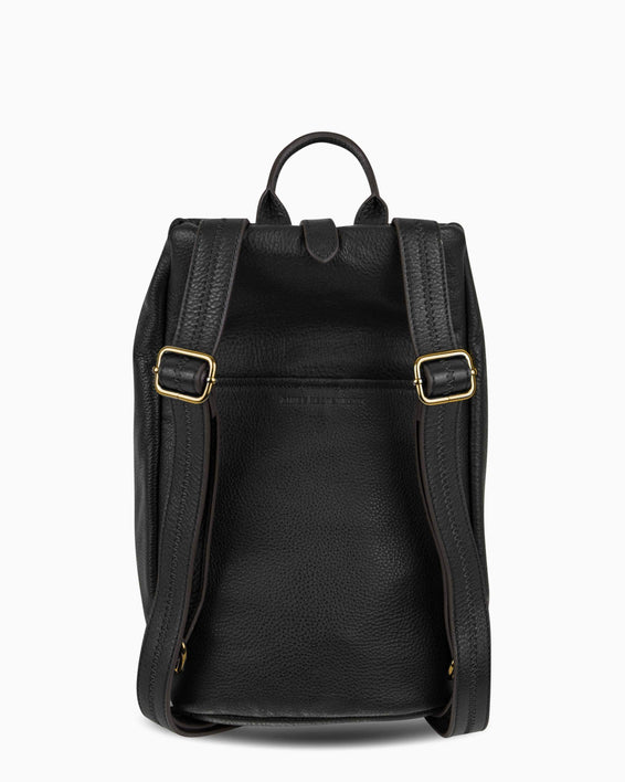 Tamitha Backpack - Black Gold Back