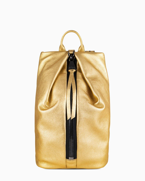 Tamitha Backpack - Liquid Gold Front
