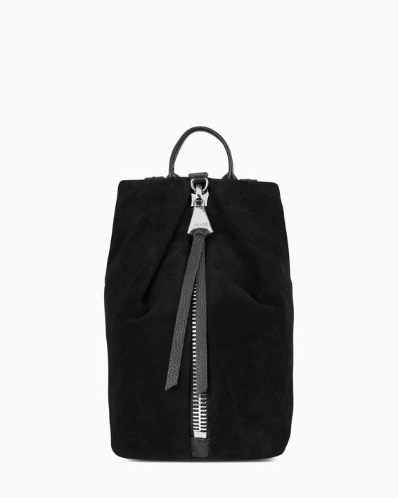 Tamitha Mini Backpck - Black Suede front