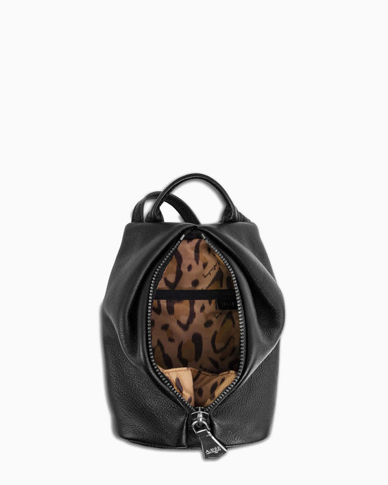 Tamitha Mini Crossbody - Black interior functionality