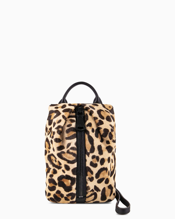 Tamitha Mini Crossbody  - Jungle leopard haircalf front