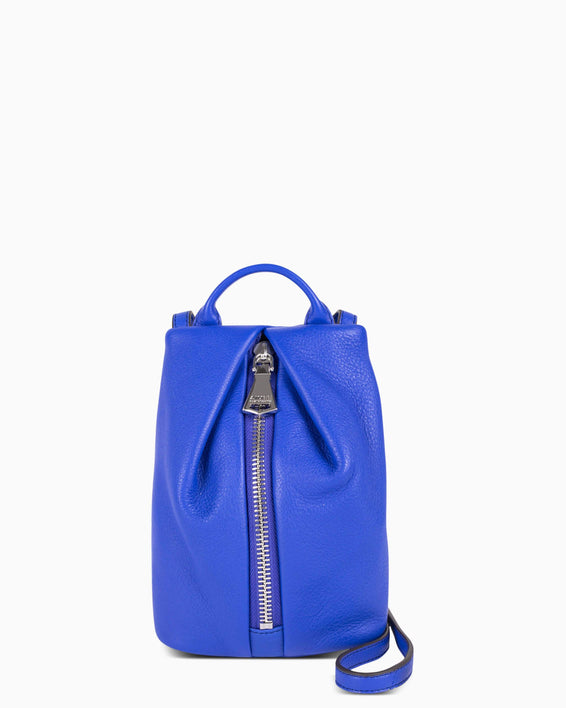 Tamitha Mini Crossbody - Lapis Blue Front