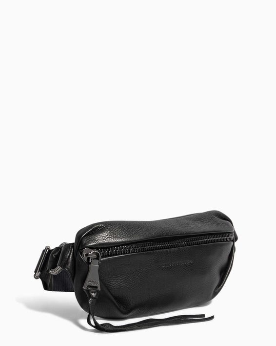 Outta This World Bum Bag Black - side angle