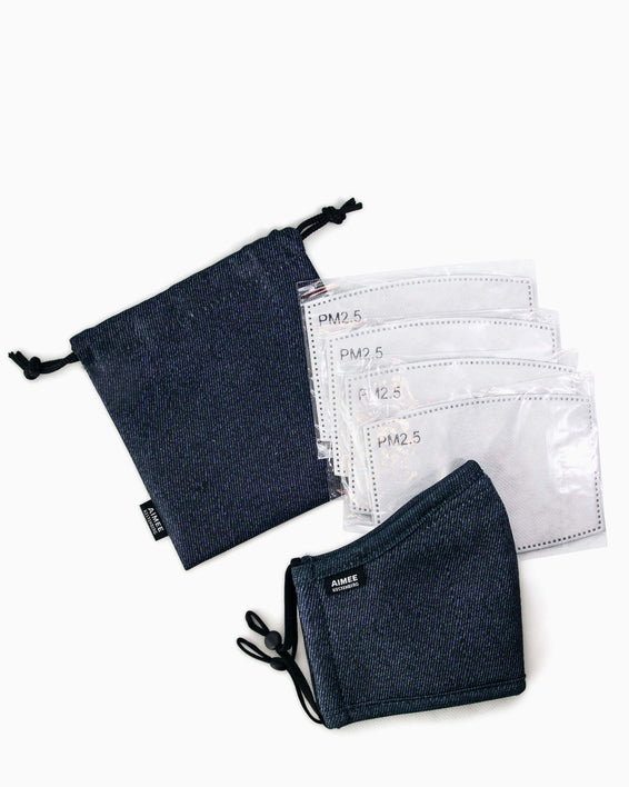 Face Mask - replacement filte - denimrs