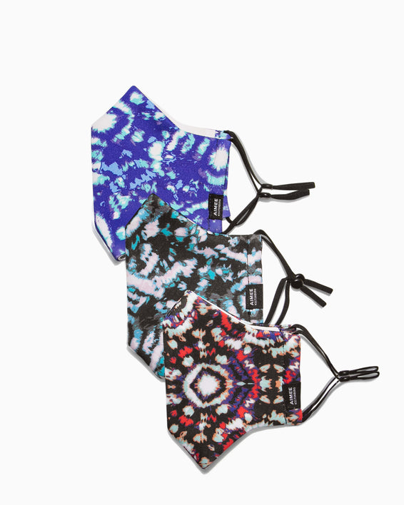 Aimee Kestenberg | Face Mask Set Tie Dye Nation - set of masks