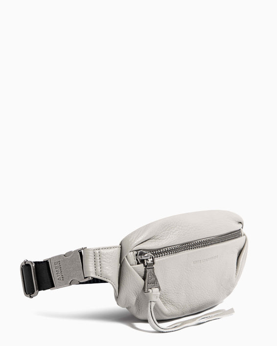 Aimee Kestenberg | Milan Bum Bag Elephant Grey - side angle