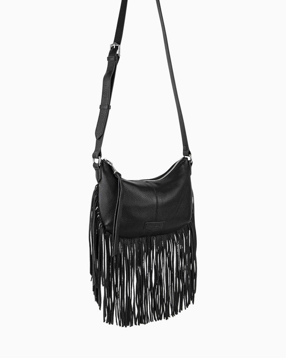 Beach Babe Fringe Crossbody - side angle