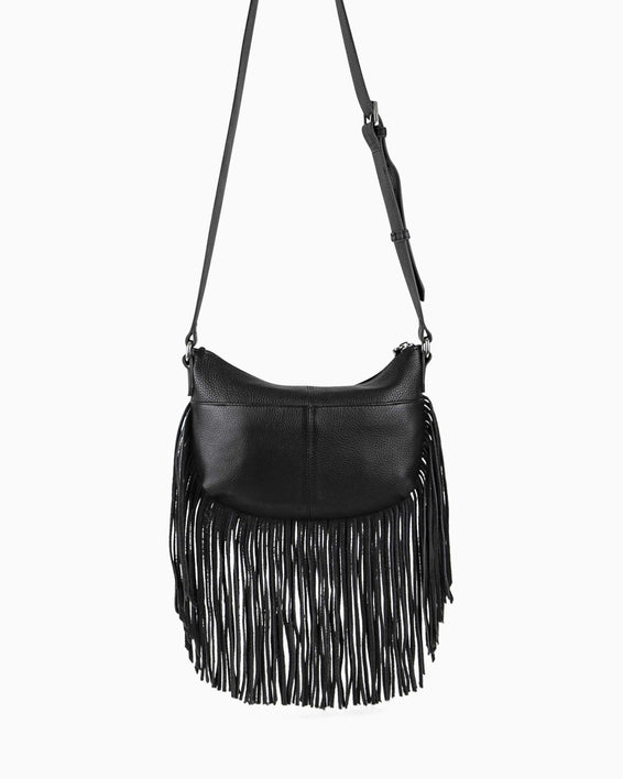 Beach Babe Fringe Crossbody - back