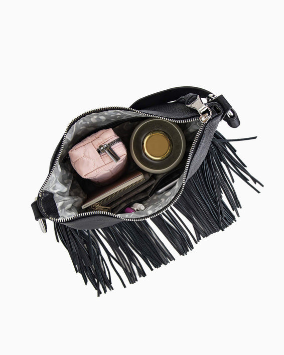 Beach Babe Fringe Hobo - interior functionality