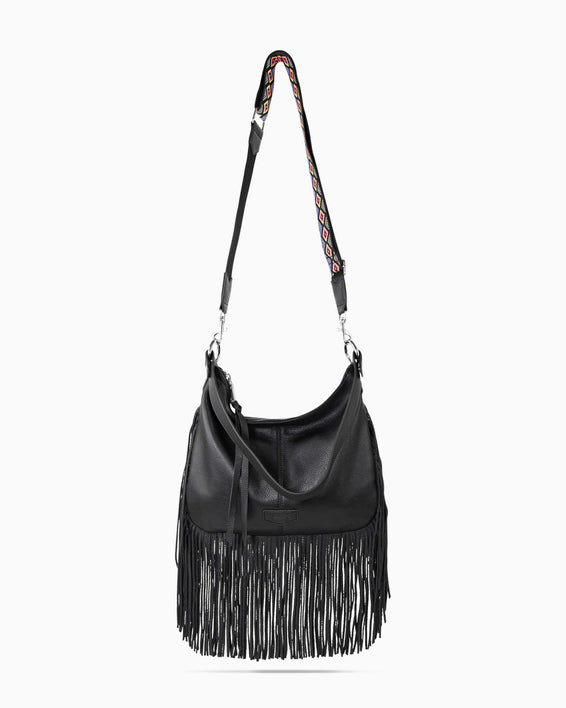 Beach Babe Fringe Hobo - detail