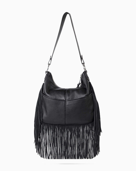 Beach Babe Fringe Hobo - back