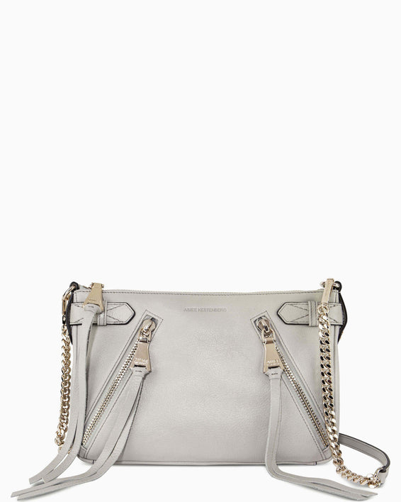 City Slicker Crossbody - elephant grey front