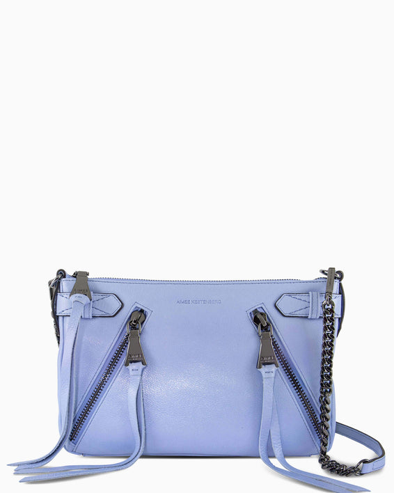 City Slicker Crossbody - periwinkle front
