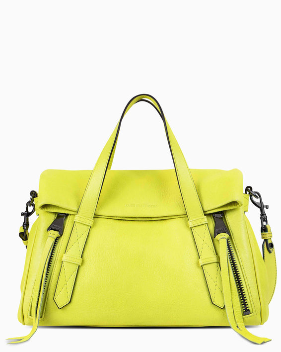 City Slicker Satchel - citrine front