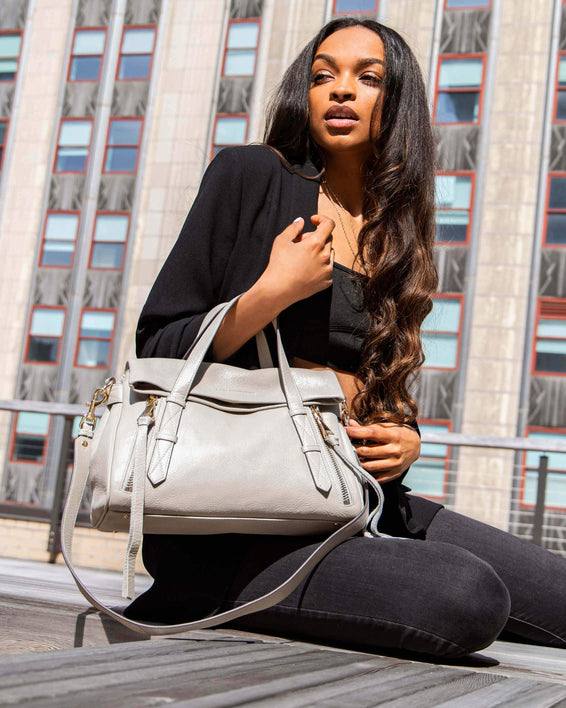 City Slicker Satchel - on model
