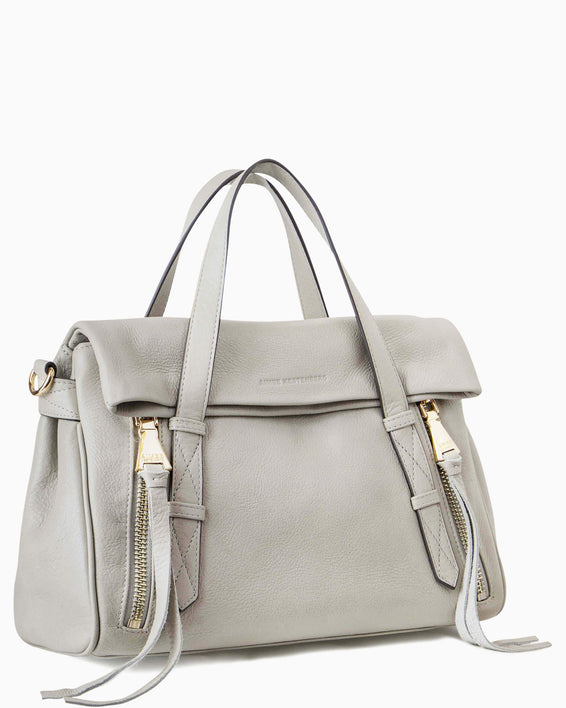 City Slicker Satchel - side angle