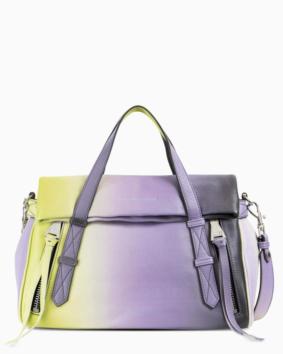 City Slicker Satchel - reef ombre front
