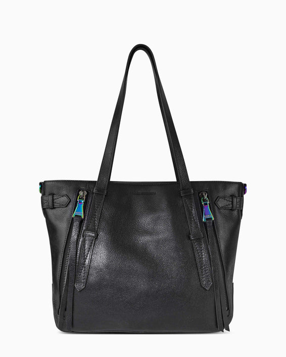 City Slicker Tote - black front