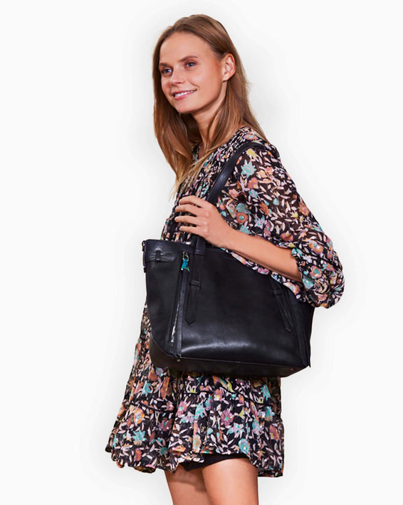 City Slicker Tote - on model