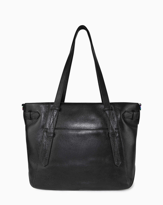 City Slicker Tote - back