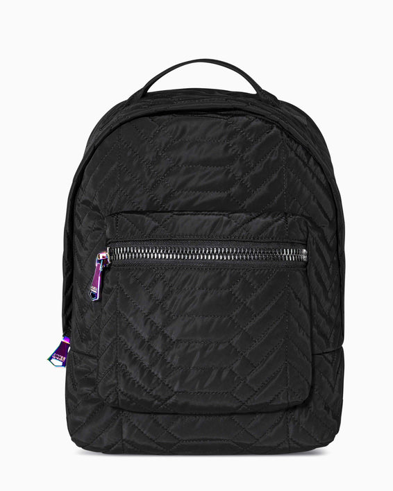 Got Your Back Backpack - black nylon front