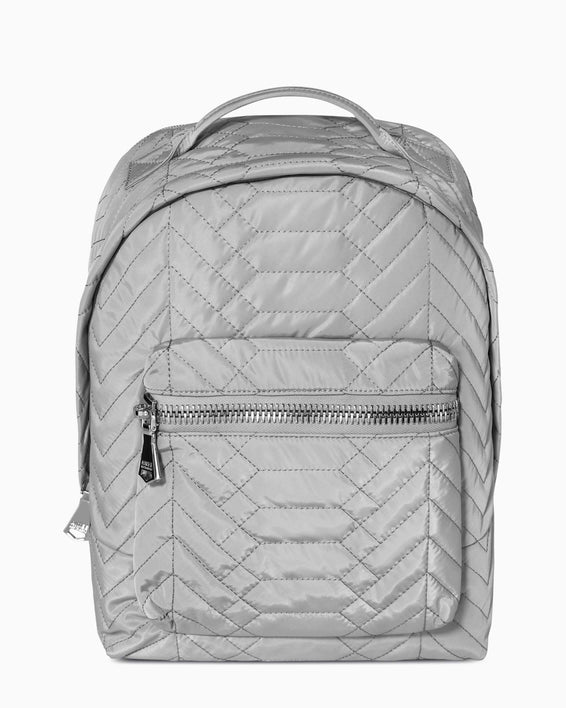 Got Your Back Backpack - grey nylon front