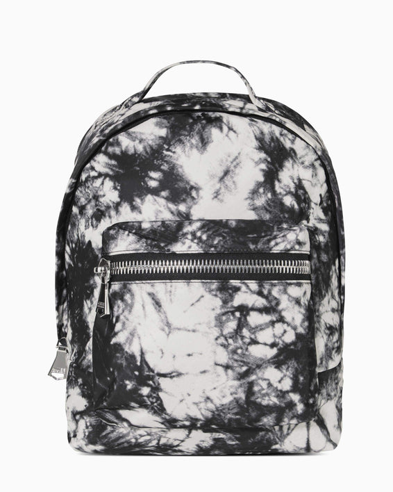 Got Your Back Backpack - vanilla tie dye nylon front
