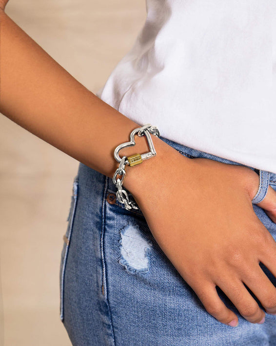 It's A Love Thing Bracelet - on model