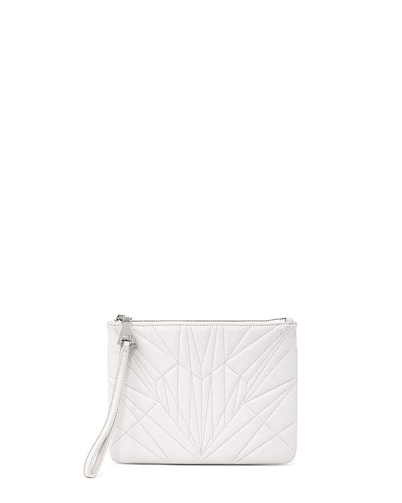 It's A Love Thing Clutch - vanilla front