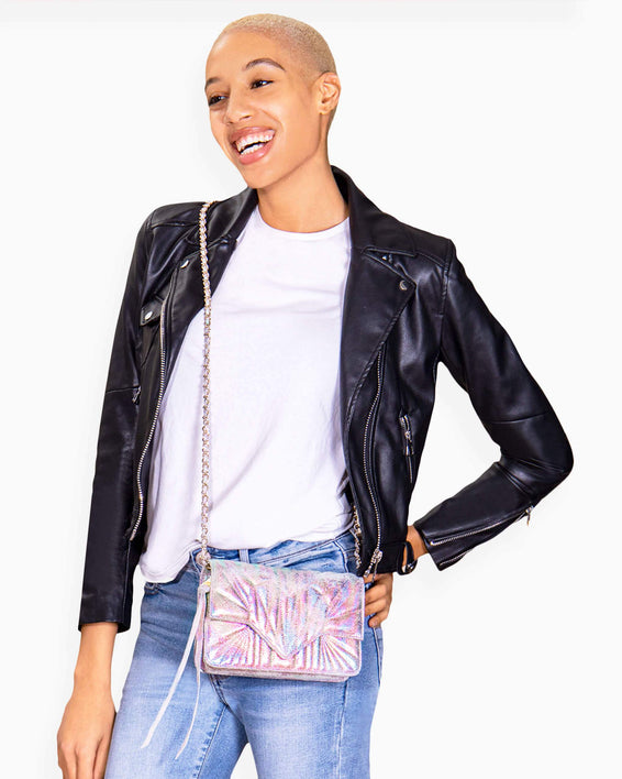 It's A Love Thing Crossbody - on model