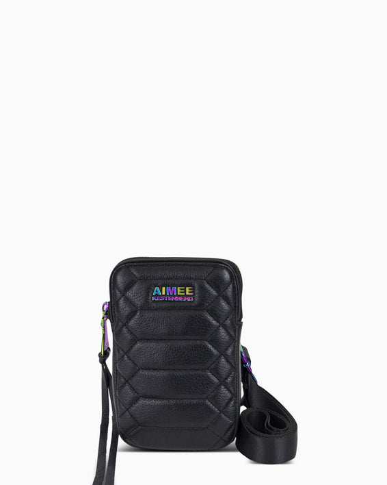 Just Saying Crossbody - black front