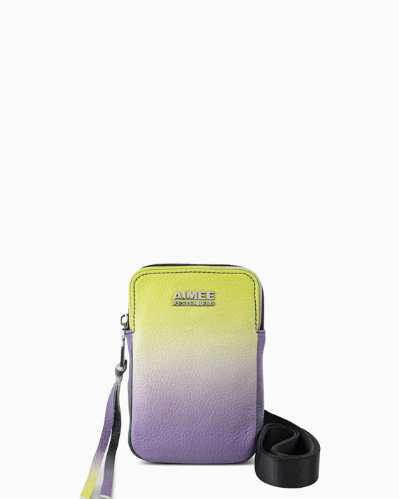 Just Saying Crossbody - reef ombre front