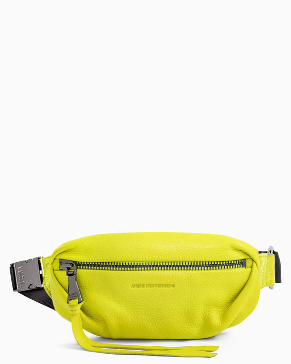Milan Bum Bag - citrine front