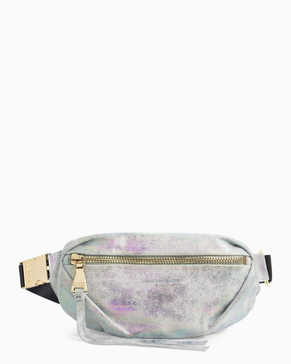 Milan Bum Bag - sunrise metallic front