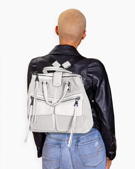 Road Trip Convertible Backpack - on model