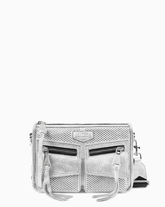 Road Trip Crossbody - silver front