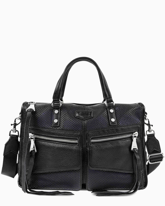 Road Trip Satchel - black front