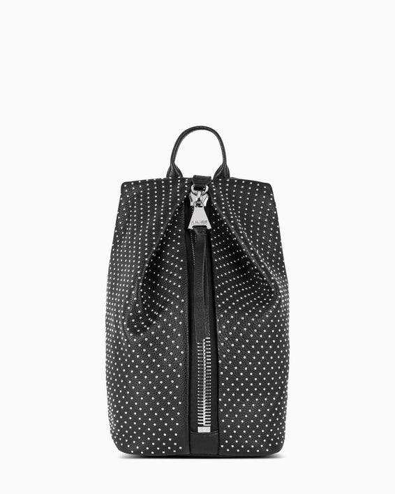Tamitha Mini Backpack - black studded front