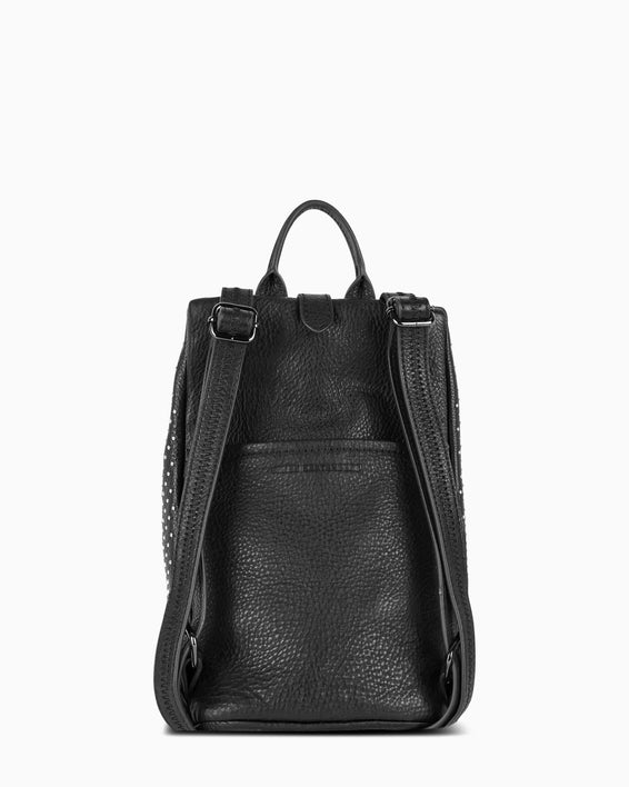 Tamitha Mini Backpack - black studded back