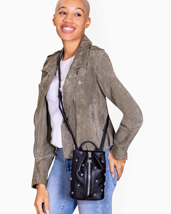 Tamitha Mini Crossbody - on model