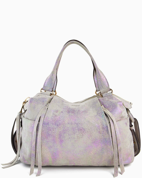 Tamitha Satchel - sunrise metallic front
