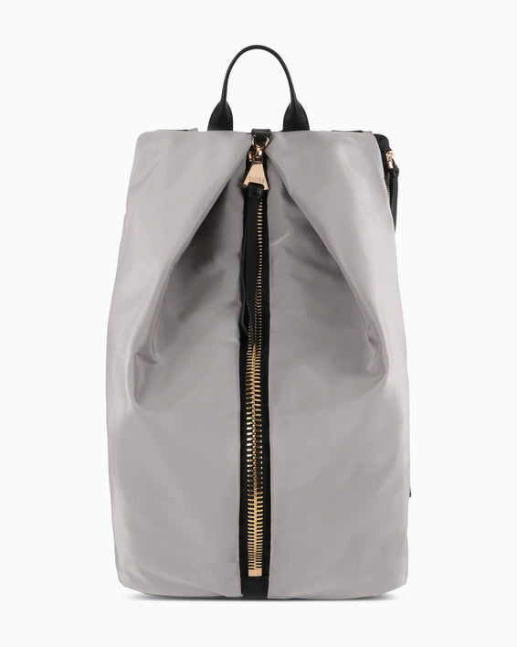 Tamitha Tech Backpack - slate grey nylon front