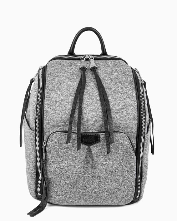 When In Rome Backpack - grey neoprene front