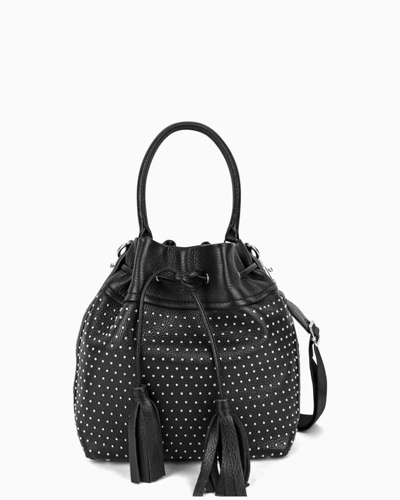 Wonderer Bucket Crossbody - black front