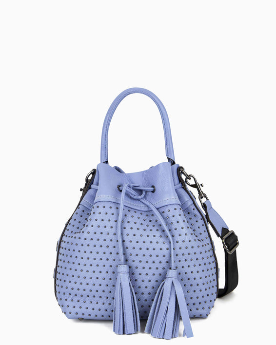 Wonderer Bucket Crossbody - periwinkle front