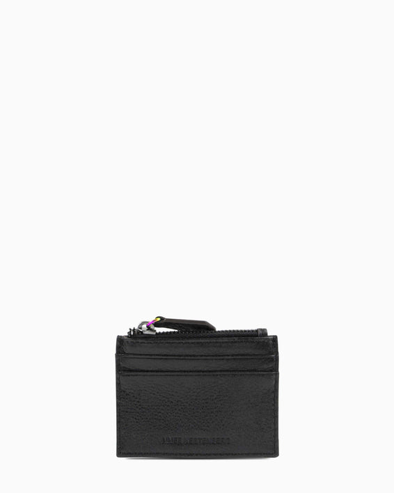 Zip It Up Card Case - black front