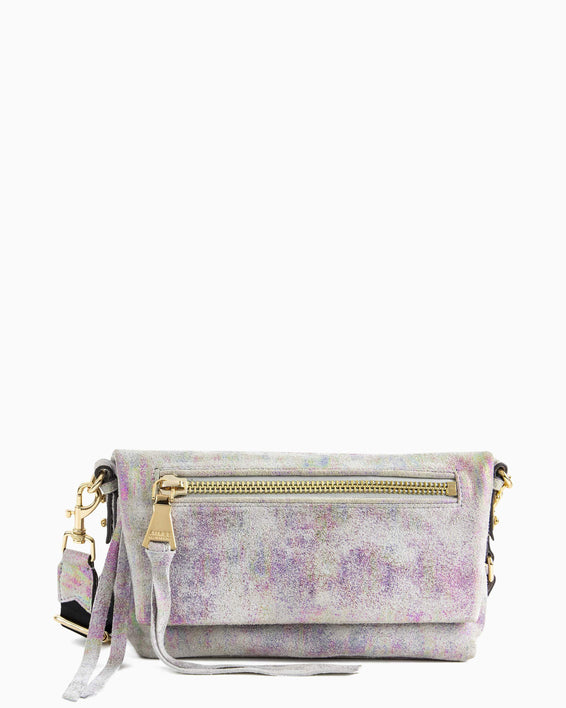 Zip Me Up Crossbody - sunrise metallic front